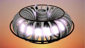 聚变反应堆 免版税库存照片