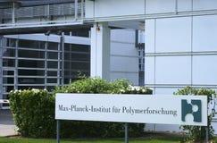 聚合物研究最大普朗克学院 库存照片
