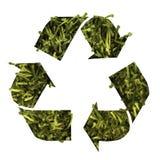 聚酯回收 免版税图库摄影