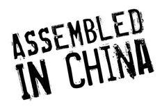聚集在中国不加考虑表赞同的人 库存照片