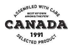 聚集在加拿大不加考虑表赞同的人 免版税库存图片