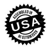 聚集在美国不加考虑表赞同的人 免版税库存照片