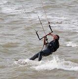聪慧的夜间风筝星期日冲浪者 库存照片