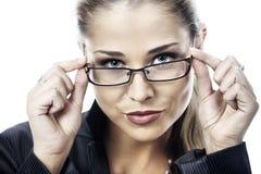 聪明的妇女 免版税库存照片