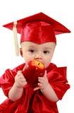 聪明的婴孩 库存图片