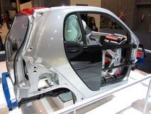 聪明的汽车框架 免版税图库摄影