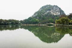 肇庆风景七个星的碎片 免版税库存照片