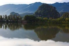 肇庆Star湖风景 免版税库存照片