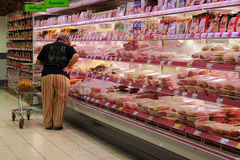 肉分类 免版税库存照片