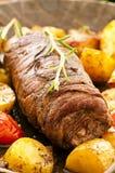 肉卷 免版税图库摄影
