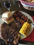 肉和更多肉 库存图片