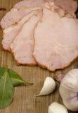 肉和菜 免版税库存照片