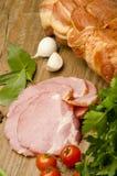肉和菜 免版税图库摄影