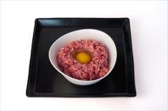 肉末用鸡蛋 免版税库存照片
