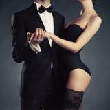 肉欲的夫妇 免版税图库摄影