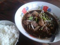 肉汤,食物,肉丸 免版税图库摄影