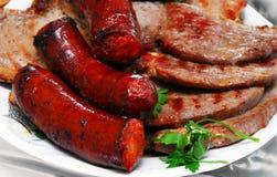 肉烘烤 免版税库存照片