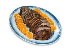 肉烘烤 免版税库存图片