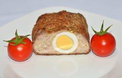 肉用鸡蛋 图库摄影