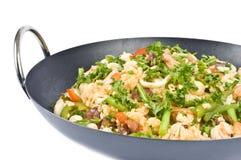 肉菜饭海鲜 库存图片