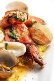 肉菜饭海鲜 库存照片