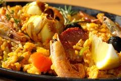 肉菜饭 图库摄影