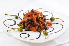 肉蔬菜 图库摄影