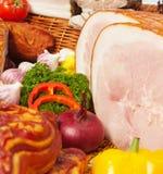 肉蔬菜 免版税图库摄影