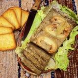 肉饼 免版税库存照片