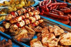 肉类市场 免版税库存图片
