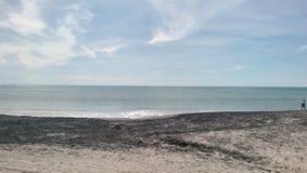 肋前缘埃斯梅拉达海滩巴拿马 免版税库存图片