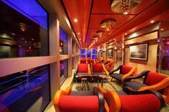 肋前缘巡航deliziosa内部最新的船 库存图片