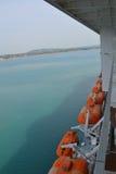 肋前缘巡航luminosa船 免版税库存照片