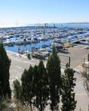 肋前缘布朗卡的,西班牙港口 库存图片