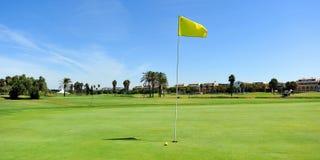 肋前缘的Ballena,花名册,卡迪士省,西班牙高尔夫球场 图库摄影