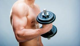 肌肉人 免版税库存图片