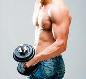 肌肉人 库存照片