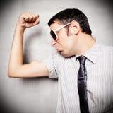 肌肉人 免版税库存照片