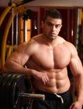 肌肉人 库存图片