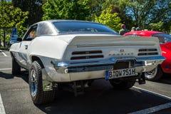 肌肉汽车庞蒂克火鸟, 1969年 库存图片