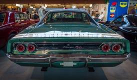 肌肉汽车推托充电器R/T, 1968年 免版税库存图片