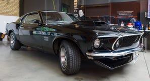 肌肉汽车Ford Mustang上司429 Fastback 库存图片