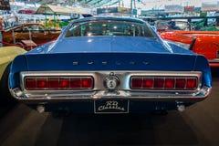 肌肉汽车Ford Mustang谢尔比GT500KR, 1968年 免版税图库摄影