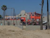 肌肉海滩LA 库存照片