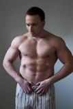 肌肉的人 免版税图库摄影