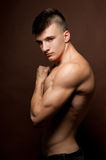 肌肉的设计 免版税库存照片