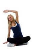 肌肉舒展 免版税库存照片