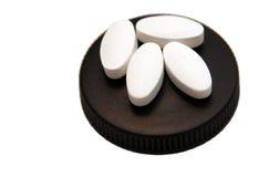 肌酸片剂 库存照片