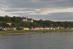 肖蒙卢瓦尔河sur 免版税库存照片