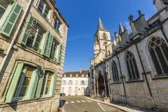 肖蒙,上马恩省,法国大教堂  免版税库存图片